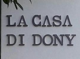 La Casa Di Dony, Matera (La Martella yakınında)