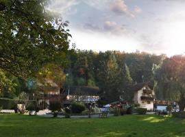 Hotel Restaurant Paradeismühle, Klingenberg am Main (Mönchberg yakınında)
