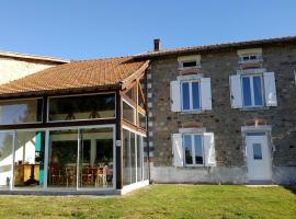 La Halte du Pèlerin Chambres d'hôtes, Chérier (рядом с городом Saint-Marcel-d'Urfé)