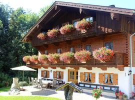 Pension Gerstenbrand, Fischbachau (Bad Feilnbach yakınında)