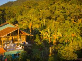 Haleiwa chalés e suítes - A Guest House do Prumirim, Ubatuba (Praia do Felix yakınında)