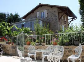 Cottage at Manoir Montdidier, Saint-Léger-sous-la-Bussière (рядом с городом Matour)