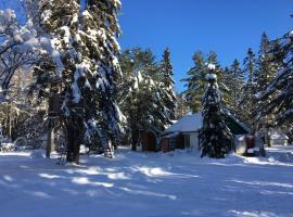 Cabane canadienne, St-Joseph Lake, Sainte-Catherine