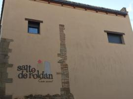 Casa Salto de Roldán, Apiés (Arguis yakınında)