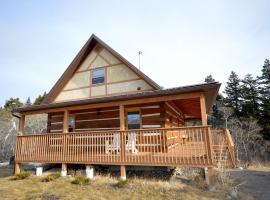 Riverside Cabin, Bellevue (Pincher Creek yakınında)