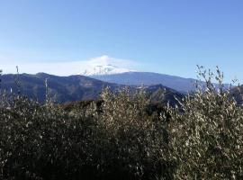 B&B al Vulcanetto, Moio Alcantara (Malvagna yakınında)