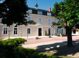 Hotel The Originals Le Haut des Lys (ex Relais du Silence)