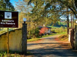 Hotel Balneario Oca Rio Pambre, Палас-де-Рей (рядом с городом Пидре)