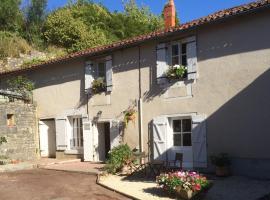 La Petite Maison de Tailleur de Pierre, Charroux (рядом с городом Pouillac)