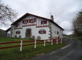 maison Idigoinia, Iholdy (рядом с городом Hélette)