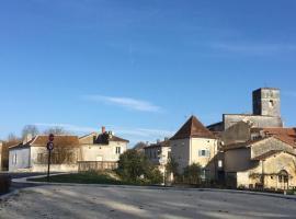 La Maison Du Pont, La Rochebeaucourt-et-Argentine (рядом с городом Gardes-le-Pontaroux)