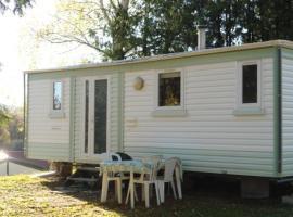 Mobil Home Camping La Perle Fourneaux, Saint-Médard (рядом с городом Saint-Maixant)