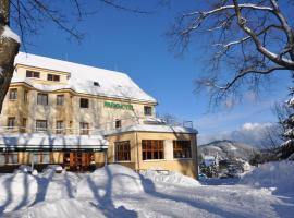 Parkhotel Smržovka, Smržovka (Lučany nad Nisou yakınında)