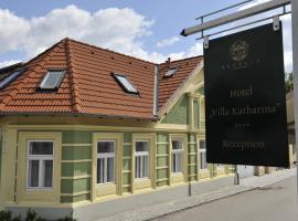 MÖRWALD Hotel Villa Katharina, Feuersbrunn (Altenwörth yakınında)