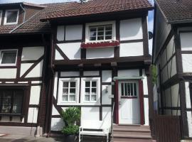 Das Fischerhaus, Bodenwerder (Hehlen yakınında)