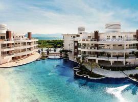 Flat 3 suites frente mar