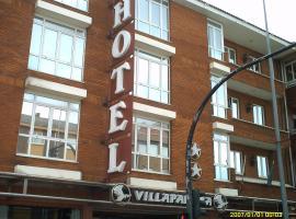 Hotel VillaPaloma, La Virgen del Camino (Ribaseca yakınında)