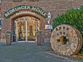 Hotel Bedburger Mühle, Bedburg (Grottenherten yakınında)