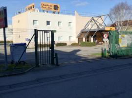 hotelF1 Cherbourg, Шербур (рядом с городом Digosville)