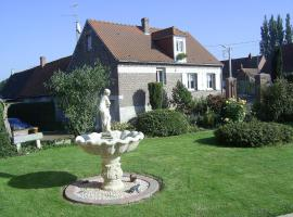 Le Gîte de la Fontaine, Rivière (рядом с городом Berneville)