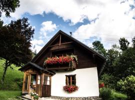 Ferienhaus Brandl, Palfau (Hollenstein an der Ybbs yakınında)