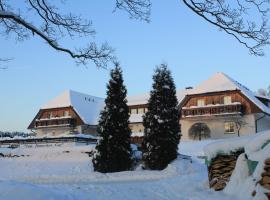 Hotel Zum Poppschen Gut, Olbernhau (Brandov yakınında)