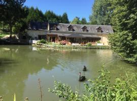 Le Moulin Calme, Luceau (рядом с городом Château-du-Loir)