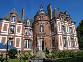 Chateau de Luzigneul, Montreuil-l'Argillé (рядом с городом Saint-Aubin-de-Bonneval)