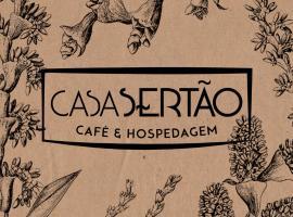 Casa Sertão - Café & Hospedagem, Sao Domingos de Goias