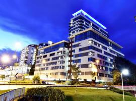 Skyline Plaza, Luxury Downtown Apartments, Бэйсингсток (рядом с городом Monk Sherborne)