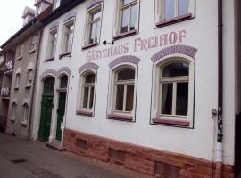 Hotel Freihof, Wiesloch (Rauenberg yakınında)