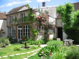 Chambre d'hôtes La Graineterie, Вильнёв-л'Аршев (рядом с городом Courgenay)