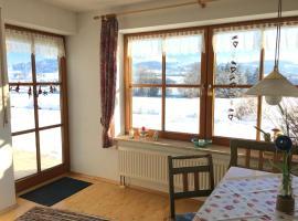 Ferienwohnung Rottachseeblick in Moosbach