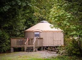Mount Vernon Camping Resort 20 ft. Yurt 2, Bow