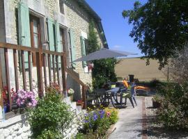 Holiday Home Chez Kays, Palluaud (рядом с городом Salles-Lavalette)