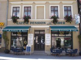 Hotel-Pension Lender, Bad Freienwalde (Neuwustrow yakınında)
