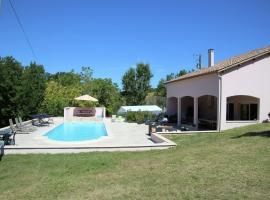 Villa Fumelois Han, Montayral (рядом с городом Saint-Vite)