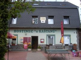 Pension U Kaštanů, Karlovy Vary (Stará Role yakınında)