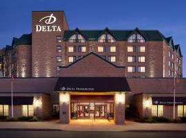 Delta Hotels by Marriott Fredericton, Fredericton (Durham Bridge yakınında)
