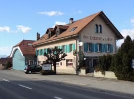 Hotel de la Gare, Cousset  (Corcelles yakınında)