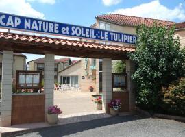 Hôtel Le Tulipier, Cransac (рядом с городом Escandolières)
