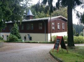 Waldhotel Zöbischhaus, Bad Reiboldsgrün (Fichtzig yakınında)
