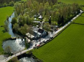 L'auberge du moulin des prés, Maroilles (рядом с городом Le Favril)