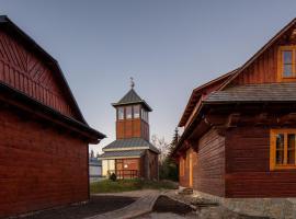Kamenná chata, Dolní Lomná (Horní Lomná yakınında)