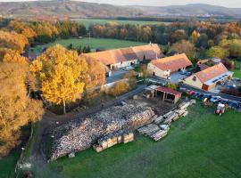 Penzion Farma Dvorec, Radnice (Terešov yakınında)