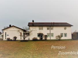 Pension Zusamblick, Dinkelscherben (Ziemetshausen yakınında)