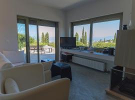 Sea View Villa in Aegina, Tzíkidhes
