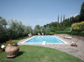Villa Santa Elena, Greve in Chianti (Lamole yakınında)