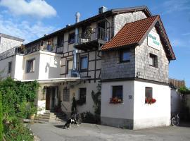 Hotel-Pension- Vesperstube Waldblick, Mainhardt (Oberrot yakınında)