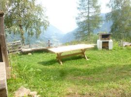 Chalet Eggerberg, San Pancrazio d'Ultimo